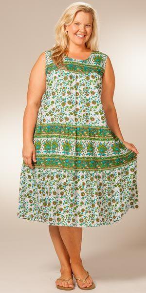 cutethickgirls plus-size-cotton-dresses-04 #plussizedresses