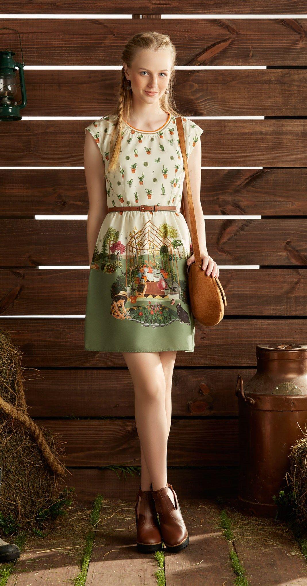 Só na Antix Store você encontra Vestido Estufa de Flores com exclusividade na internet