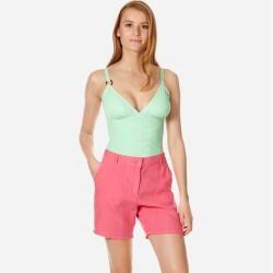 Photo of Women Ready to Wear – Shorts di lino per donna – Bermuda – Leslie – Rosa – S – Vileb