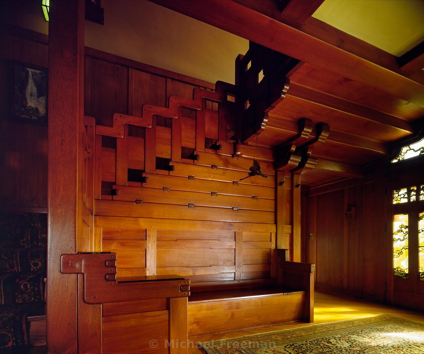 Three Brothers Bungalows: Gamble House, Pasadena, California. Greene And Greene