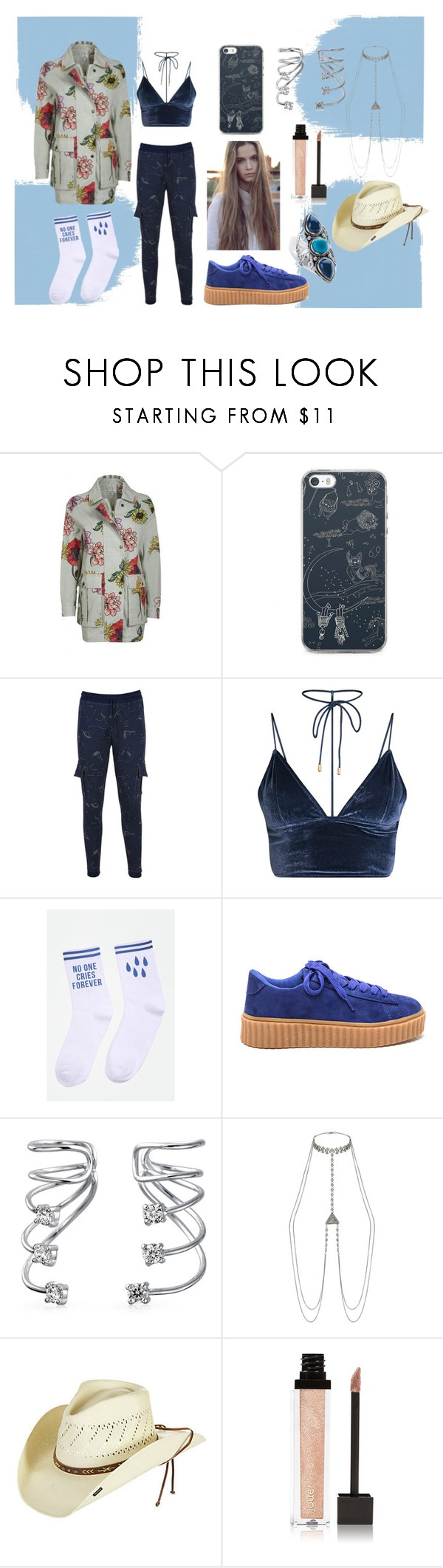"""""""Country Pop."""" by mandax17 ❤ liked on Polyvore featuring Bling Jewelry, Accessorize, Stetson, Jouer, Palm Beach Jewelry and country"""