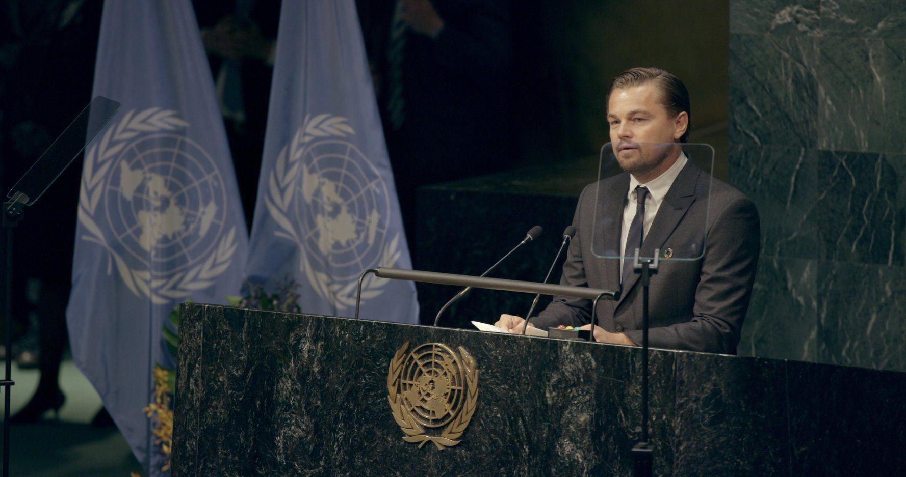Leonardo DiCaprio in Before the Flood (2016)