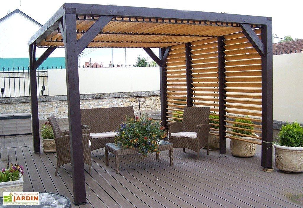 Pergola Lames Orientables Leroy Merlin Beau Tonnelle Aluminium Pergola Bioclimatique Leroy Merlin En 2020 Pergola Bioclimatique Amenagement Jardin Pergola