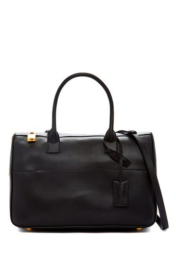 Yves Saint Laurent Leather Satchel by Non Specific on @HauteLook