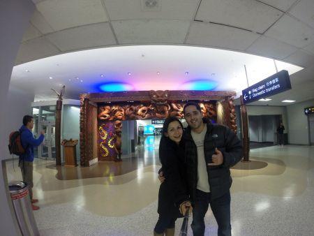 Llegando a NZ