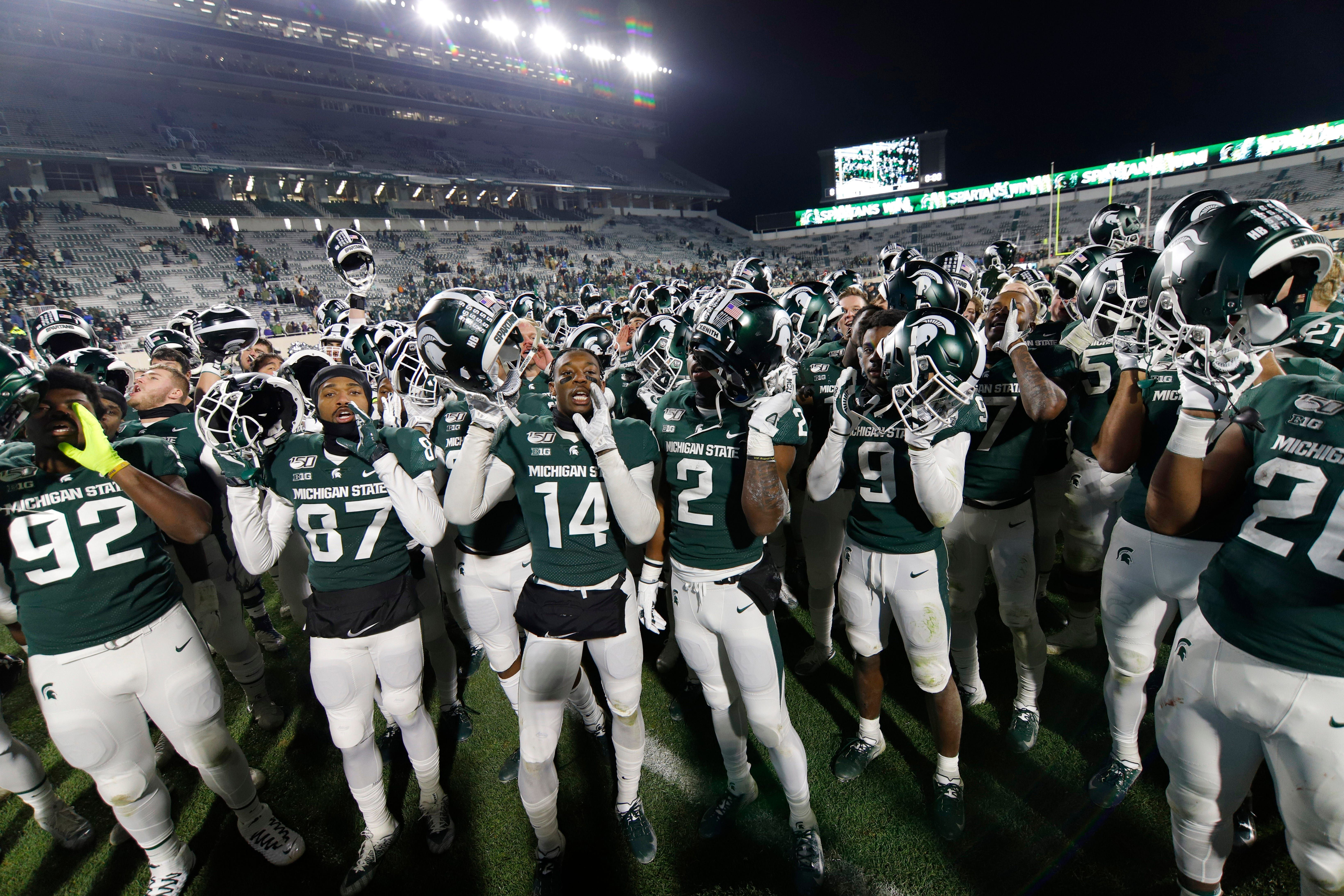 Michigan State Football S Expectations Reduced To Two Humbling