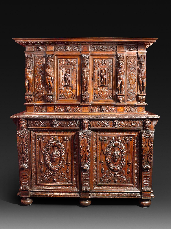 Exceptionnel Cabinet D Epoque Renaissance Burgondo Lyonnais Renacimiento Meuble De Style Meuble Baroque Mobilier