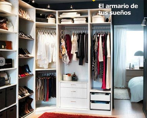 D nde encontrar vestidores baratos casa pinterest for Armarios baratos tarragona