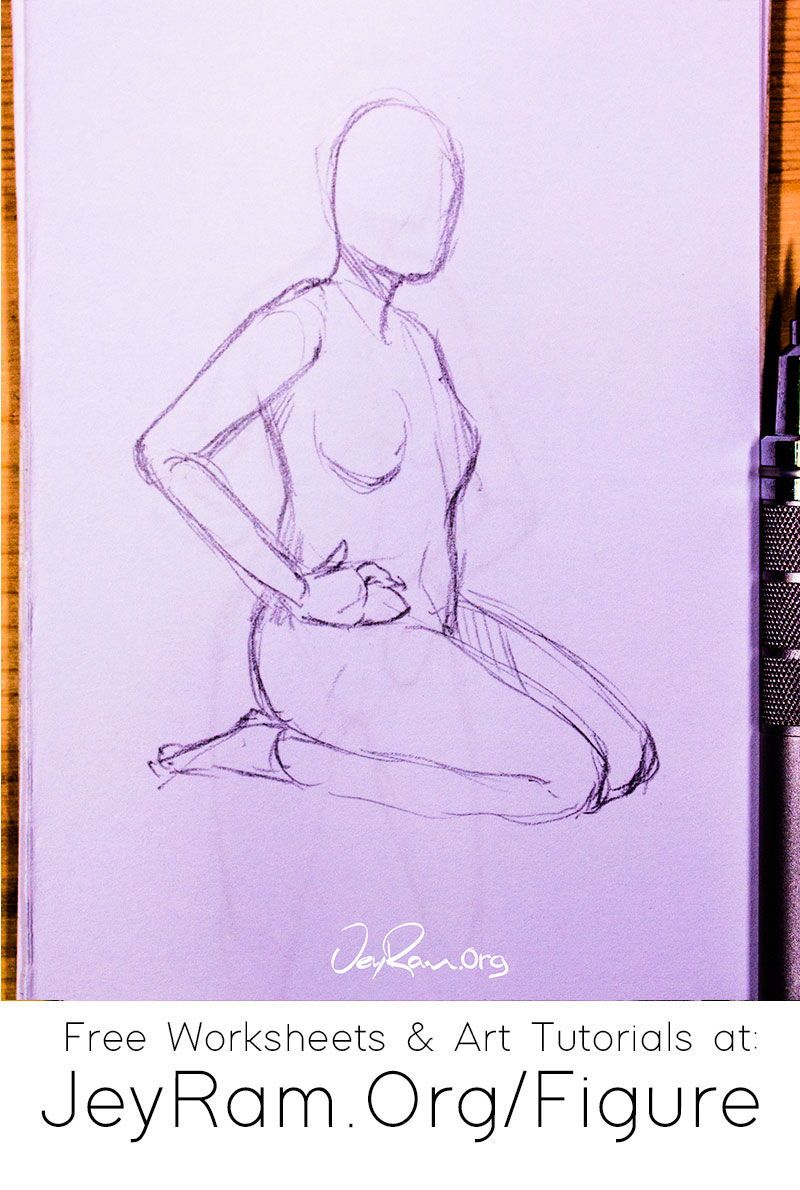 How To Draw The Human Figure Free Worksheets Tutorials In 2020 Figure Drawing Tutorial Drawings Human Figure