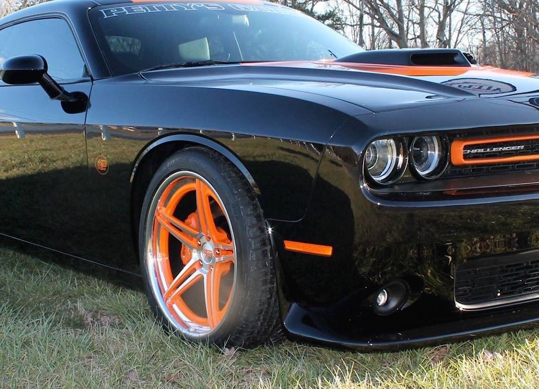 hight resolution of petty s garage magnuson supercharged dodge challenger with forged pistons shaker hood kooks headers
