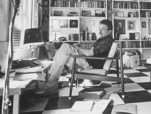 Image result for kurt vonnegut's workspace