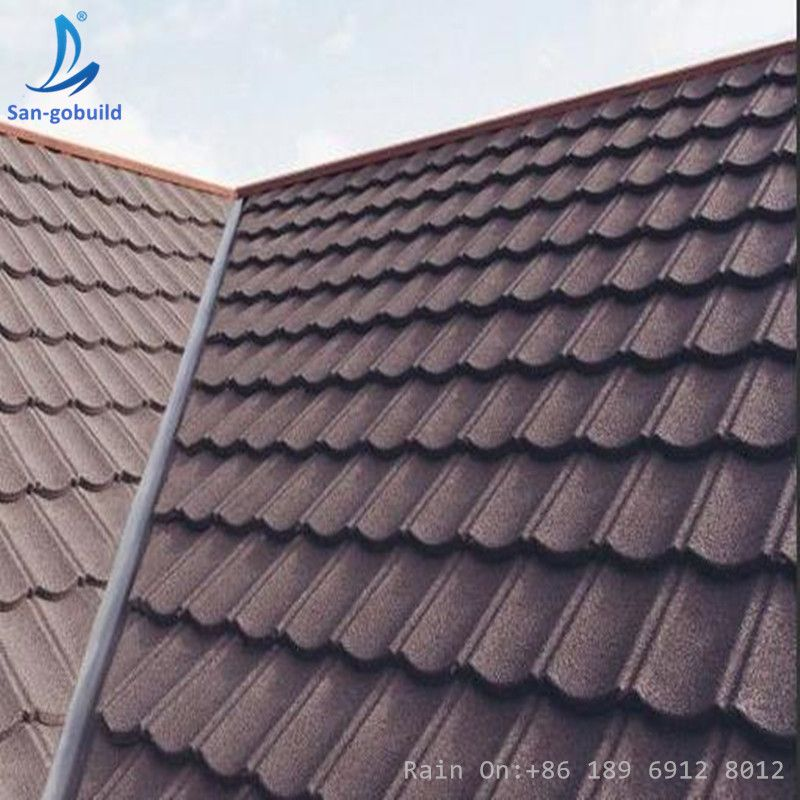 Easy Install Roof Tile Installation Type Of Roofing Shingles Stone Coated Steel Roofing Sheet Sangbuild Roof Installation Steel Roofing Sheets Aluminum Roof