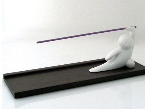This Kung Fu Incense Holder is too cute
