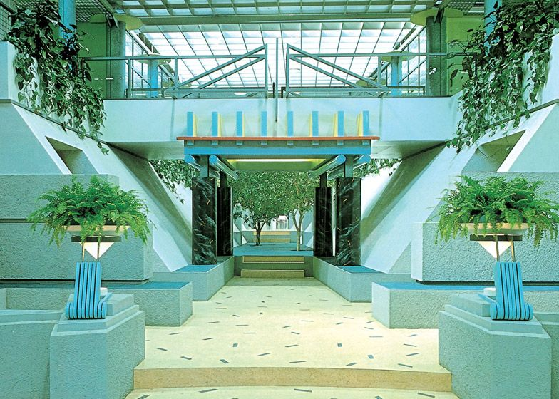 postmodern interior architecture. Postmodern Architecture: TV-am Studios By Terry Farrell Interior Architecture C