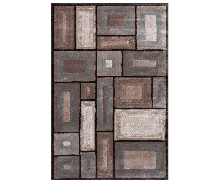 I Found A Living Colors Tan Turquoise Geometric Rugs At Big Lots For Less Find More At Biglots Com Geometric Area Rug Geometric Rug Geometric