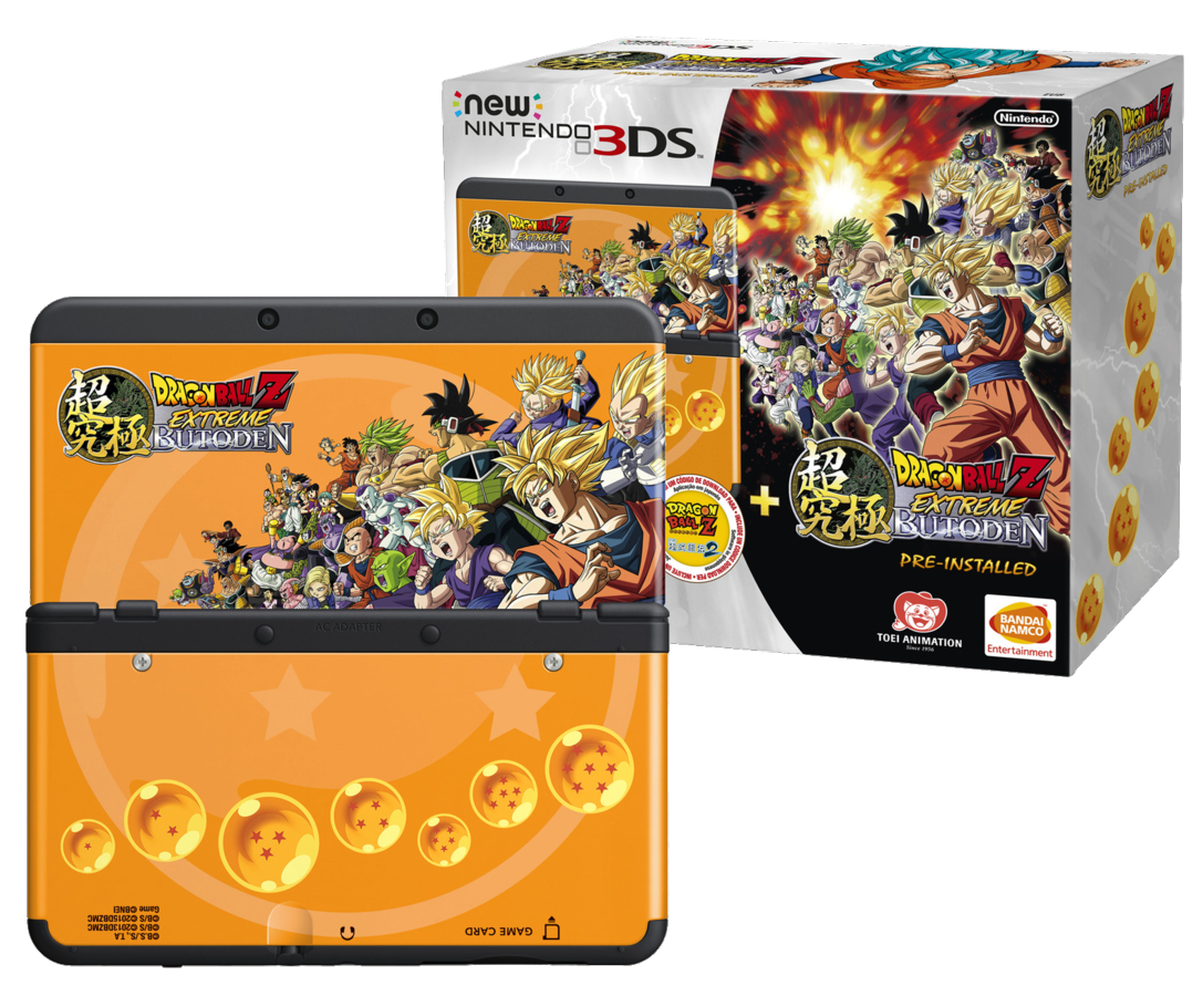 Pack New 3DS Dragon Ball Z Extreme Butoden 1 l