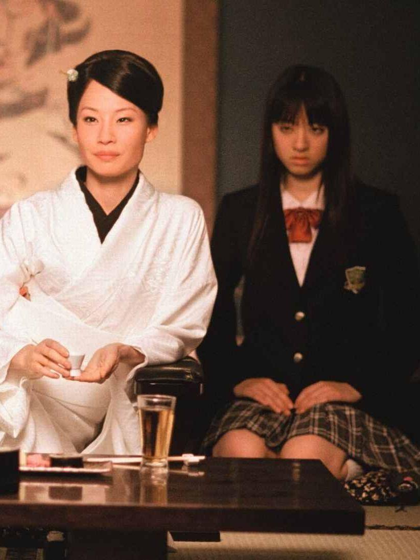 o ren ishii and gogo in kill bill vol 1 movies documentaries kill bill lucy liu kill. Black Bedroom Furniture Sets. Home Design Ideas