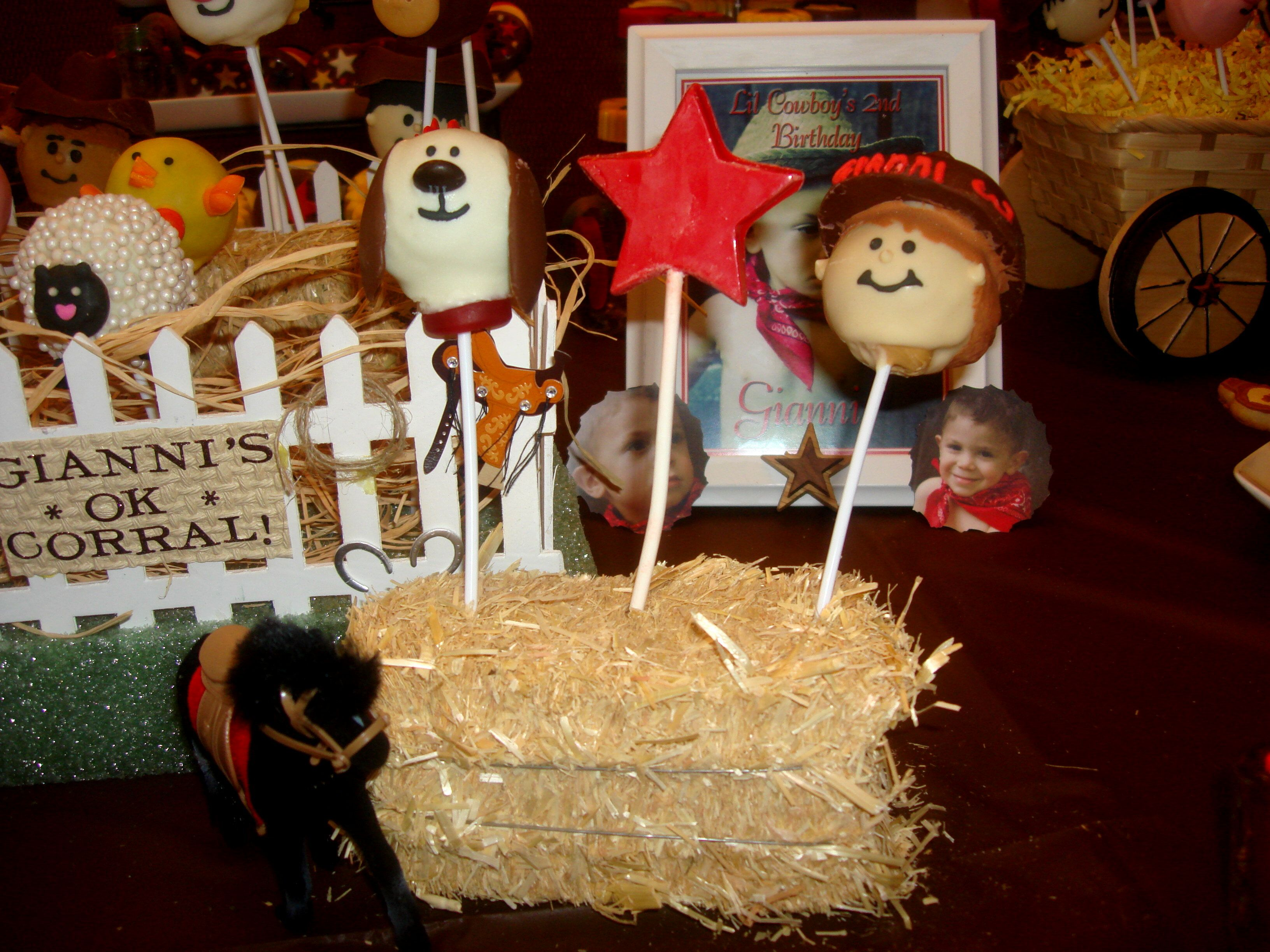 Cake pops cowboy candy cake pops candy buffet
