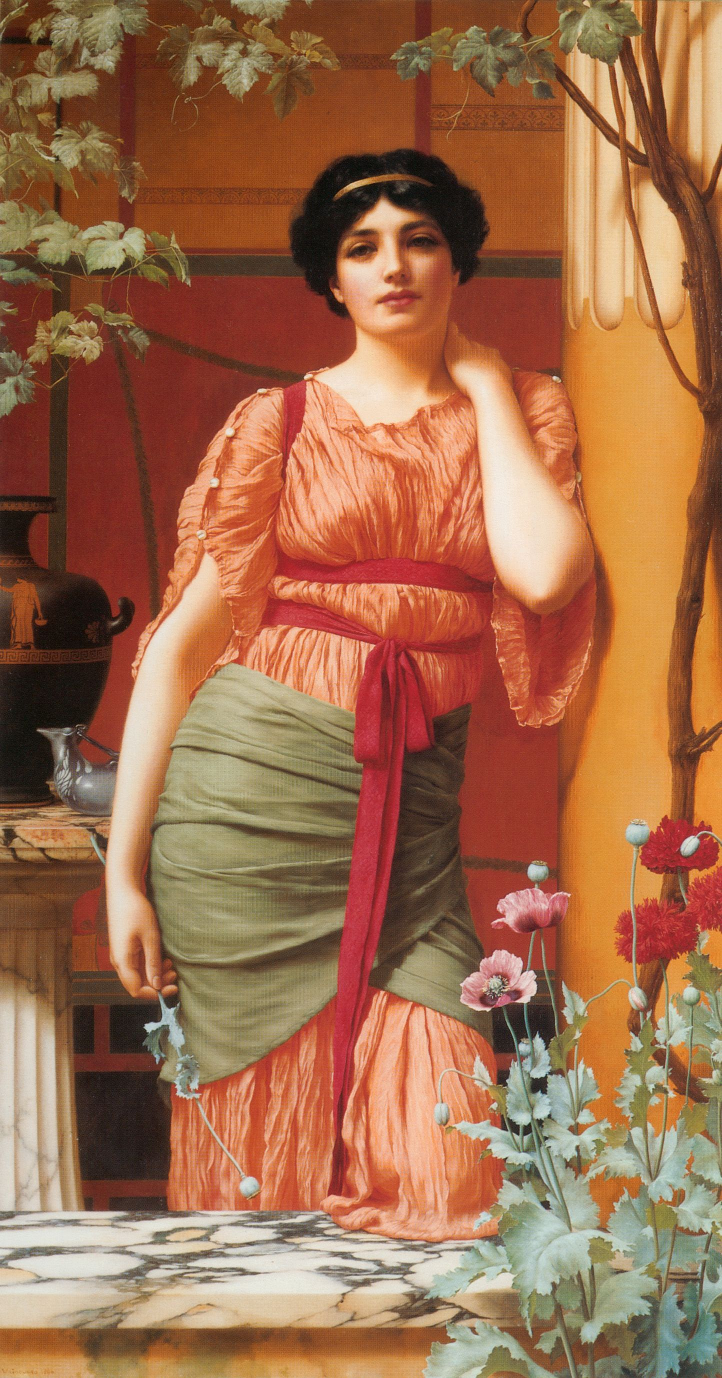 "John William Godward, ""Nerissa"" 1906"
