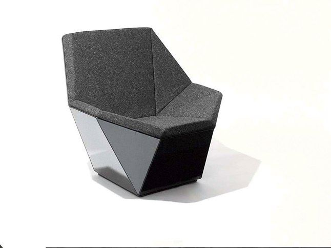David Adjaye devised his laminated-wood Prism #chair for #Knoll | are these the best new furniture pieces of 2015? | @meccinteriors | design bites