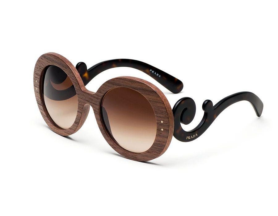 Prada Raw - Prada Wood Sunglasses | Fashion | Pinterest | Prada, El ...