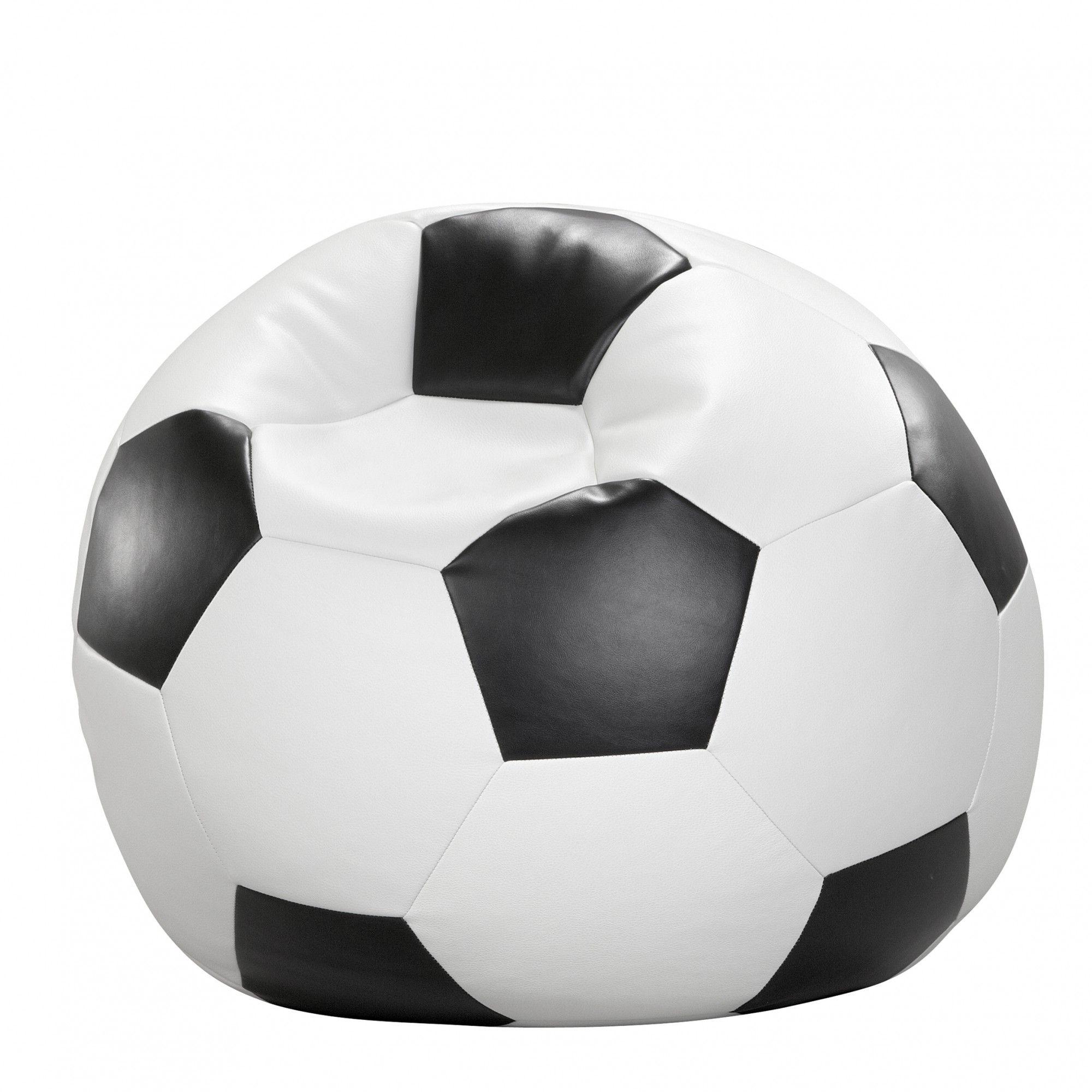 #Fußball #Sitzball aus #Kunstleder für das #Kinderzimmer #Wohnidee #Geschenkidee