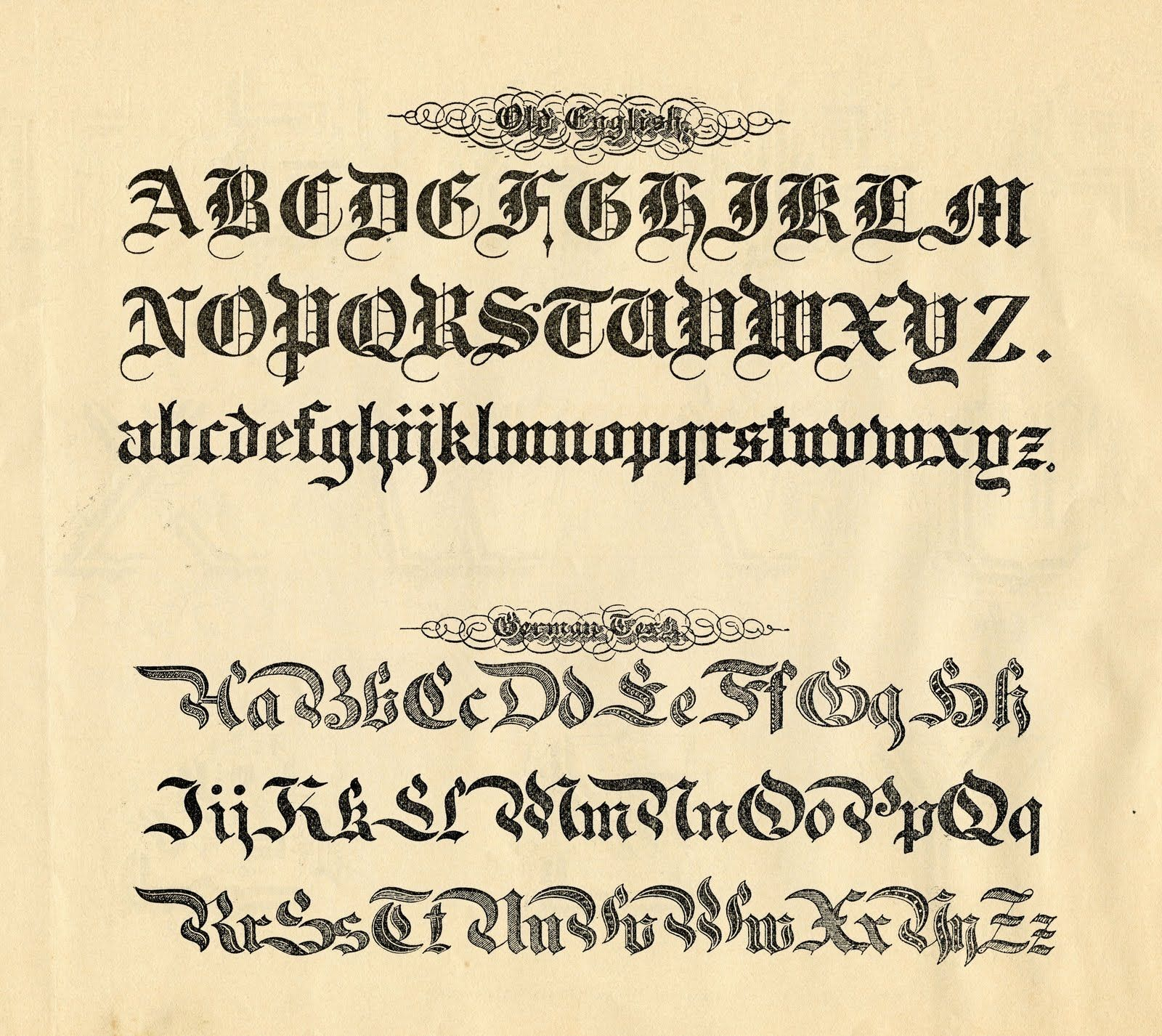 Gothic was a popular medieval calligraphy it also