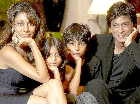Shahrukh Khan Family Photo - OK must stop putting so much SRK on here....