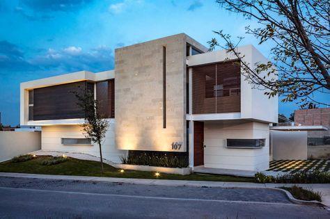 Ideas, imágenes y decoración de hogares Genética, Moderno y - fachadas contemporaneas