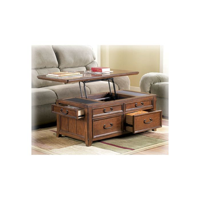 Mathis Lift Top Coffee Table With Storage Coffee Table With Storage Coffee Table Trunk Coffee Table