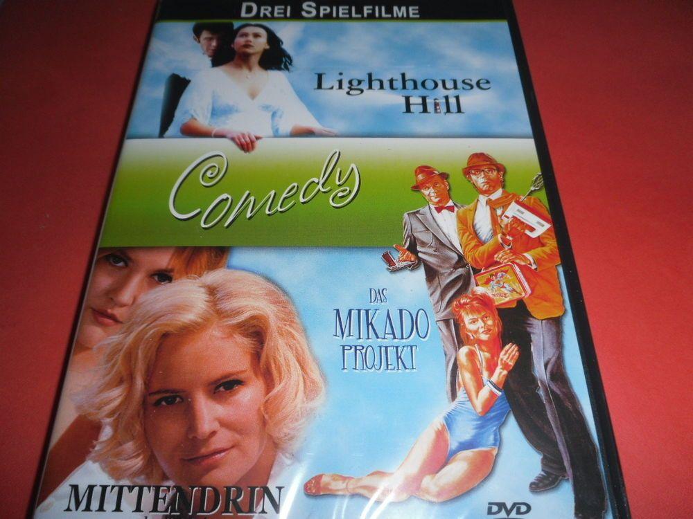 Lighthouse Hill / Mittendrin / Mikado Projekt  ( 3 Filme auf 1 DVD )    OVP/NEU