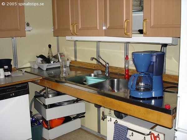 Tips Accessible Kitchen Without Lower Cabinets Kitchen Without Lower Cabinets Accessible Kitchen Kitchen