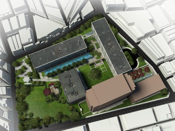 Creating a detailed master plan rendering ryan knope for Haus musterplan
