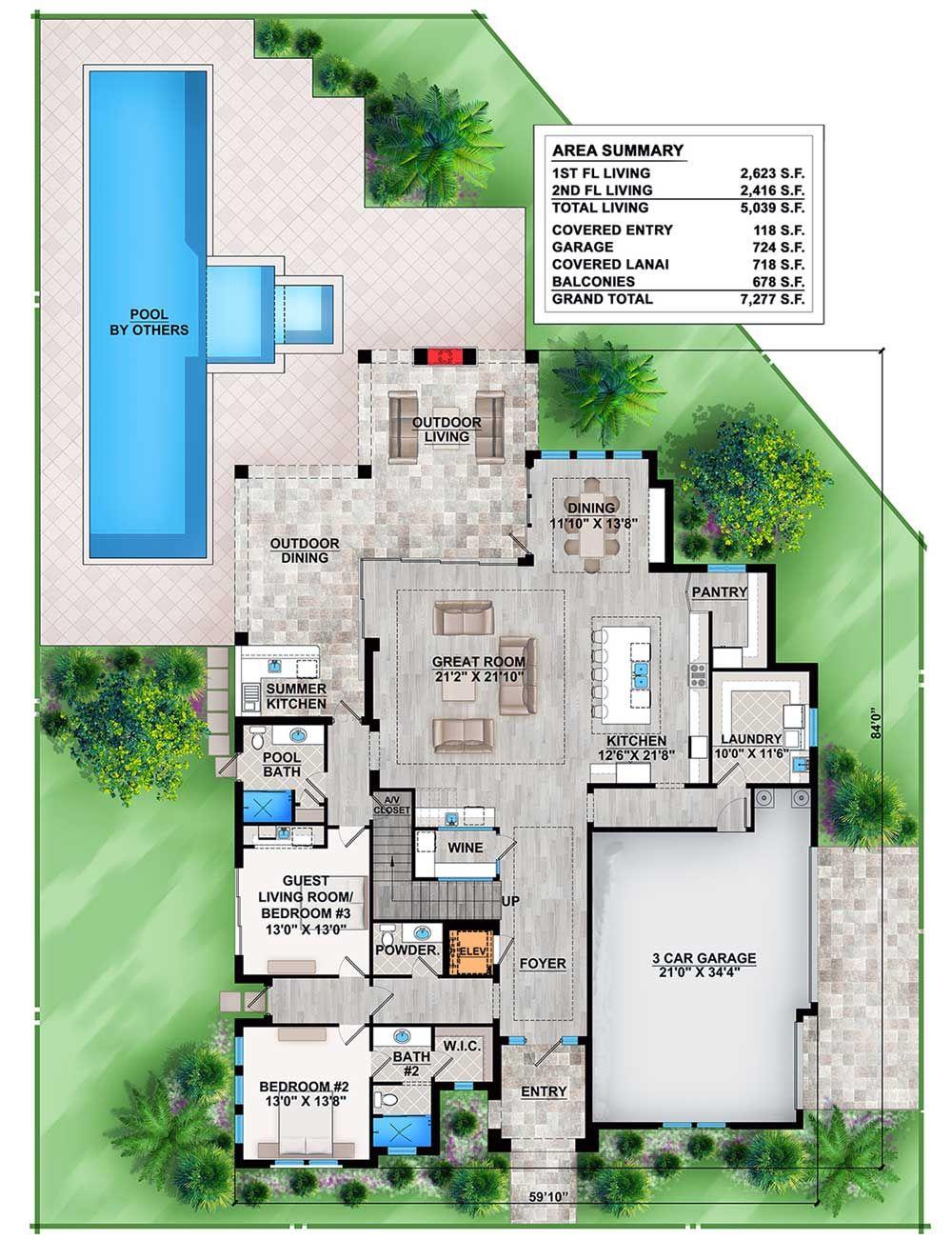 plano-de-enorme-casa-de-468mts2-con-diseno-moderno-2 | planos ...