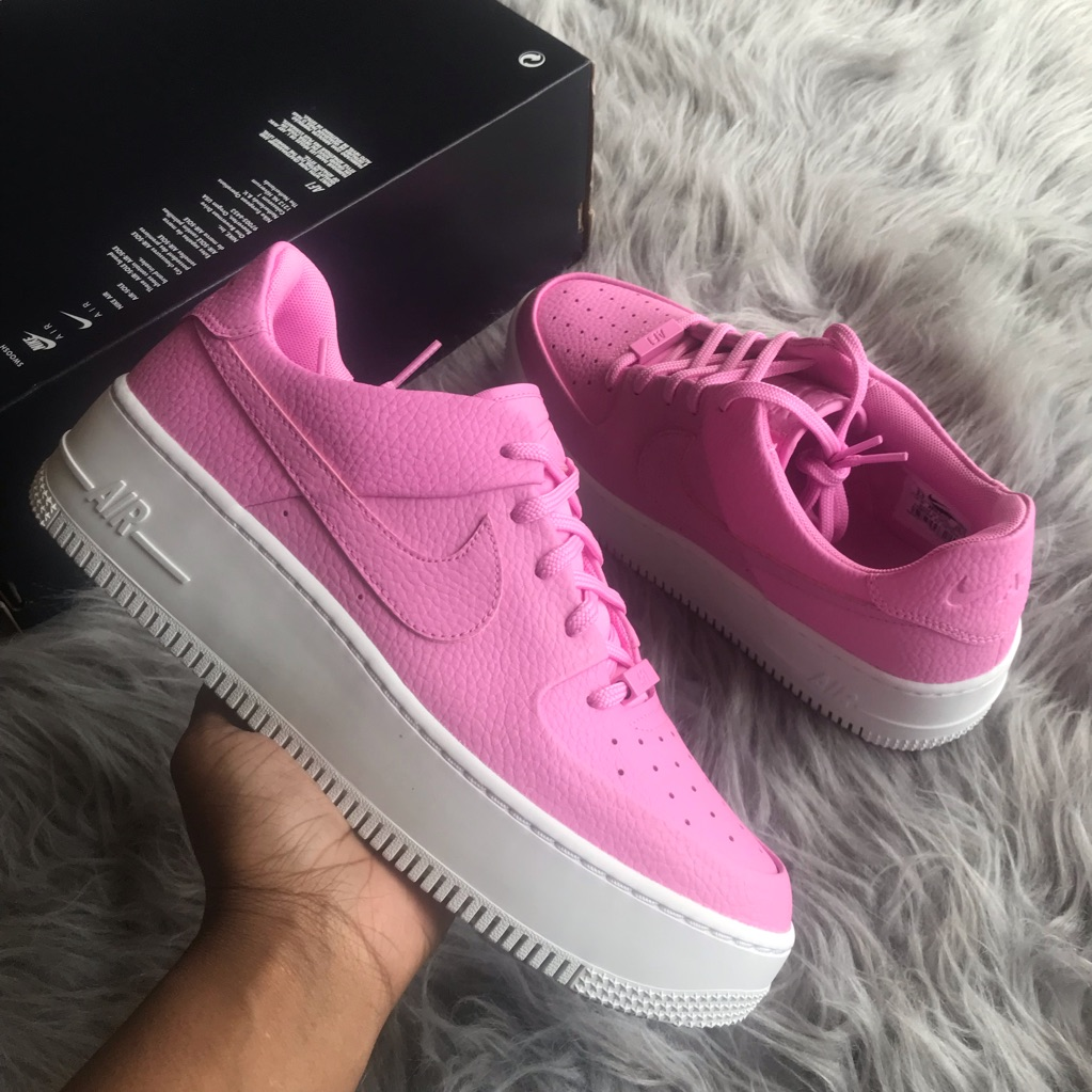 Nike Shoes | Nike Air Force 1 Sage Low Womens Pink Sz 9.5 ...