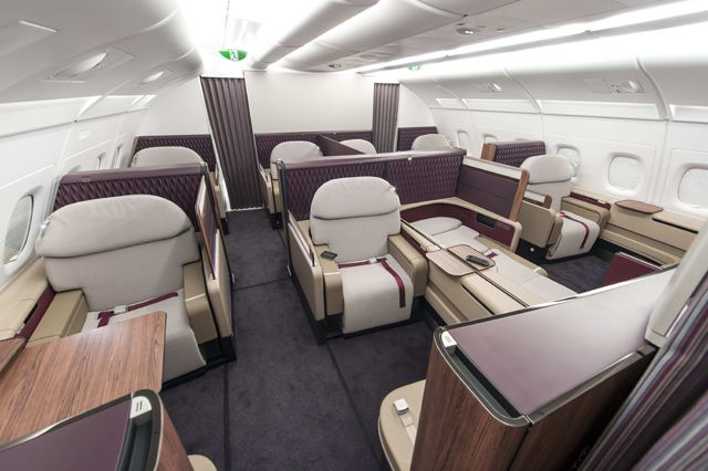 Picture Qatar Unveils New First Class With A380 Cabin Reveal