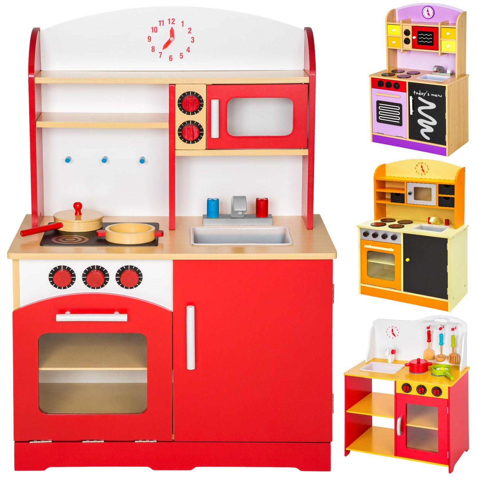 Cocina de madera de juguete para ni os juguete juego de for Cocina ninos juguete