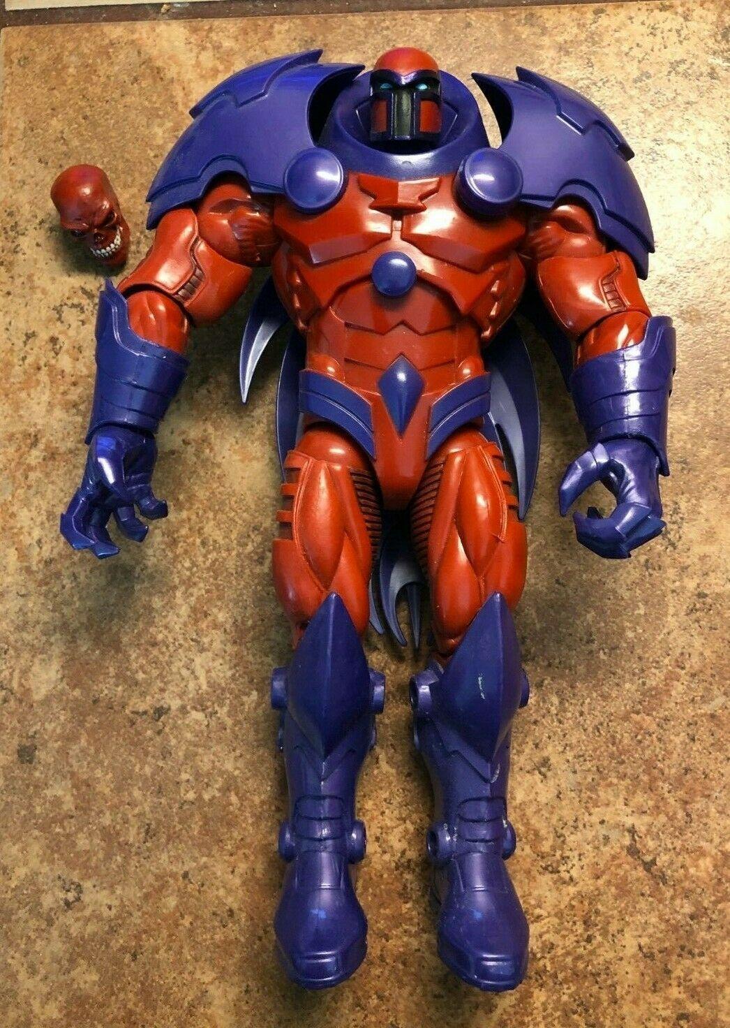 """Marvel Legends 6/"""" Inch Build a Figure BAF Red Skull Onslaught Part Leg Arm Head"""