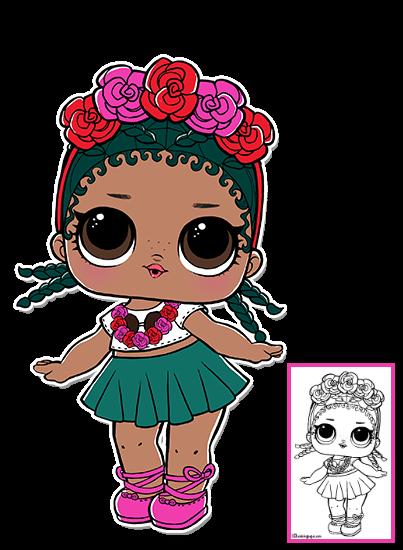 Lol Surprise Doll Coloring Pages Page 9 Color Your Favorite Lol Surprise Doll Lol Dolls Lol Girly Party Ideas