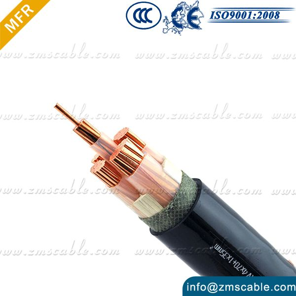 China suppiler different types of three phase 5 core pvc insulated ...