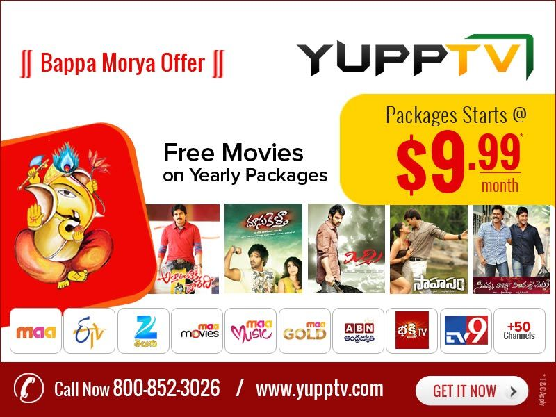 Pin by YuppTV on YuppTV Offers | Movies, Free, Discount coupons