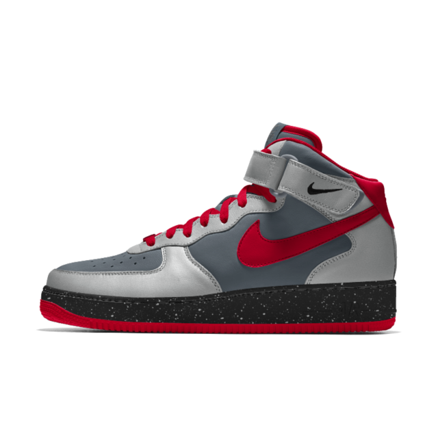 Cyborg inspired Nike Air Force 1 Mid iD Men's Shoe
