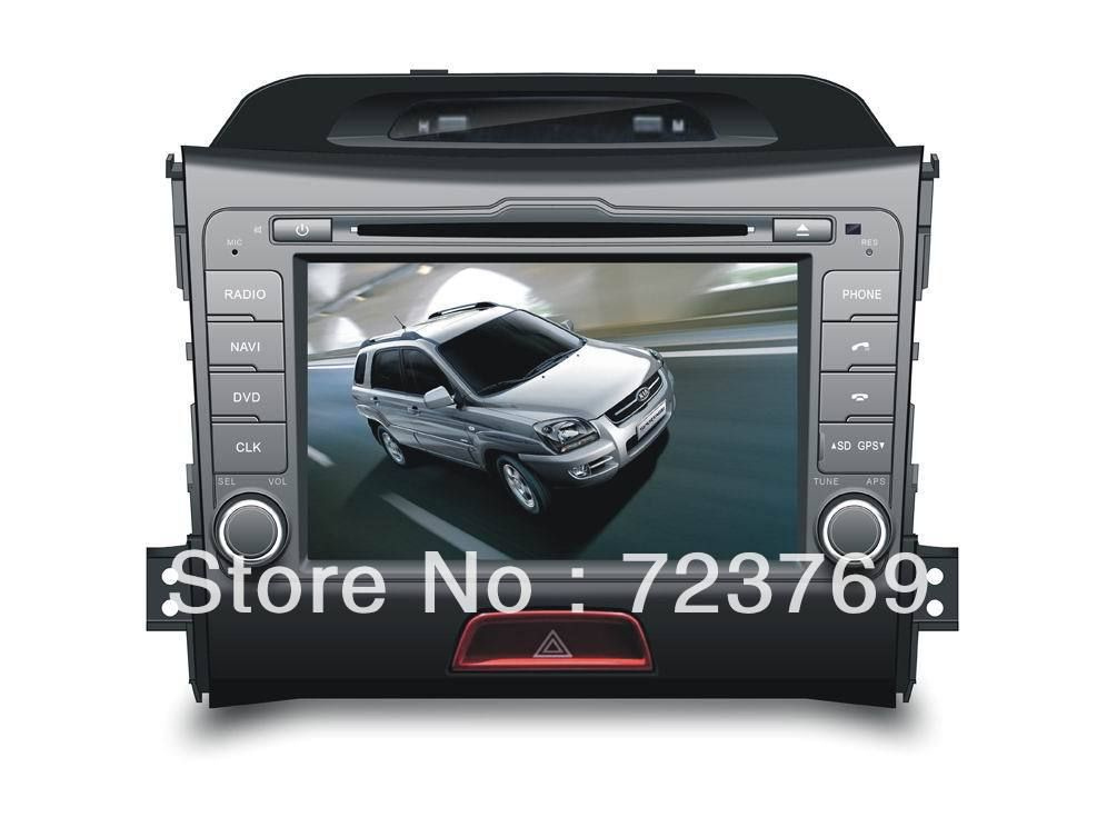 Car Dvd Navigation Gps Syste For Kia Sportage 2010  With