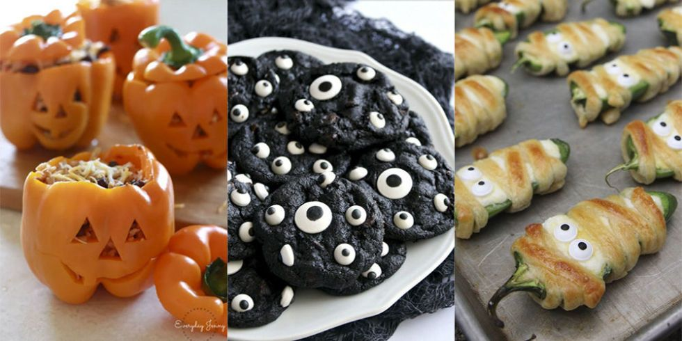 18 super easy and impressive Halloween recipes Favourite - pinterest halloween food ideas
