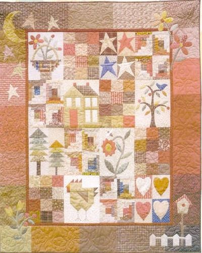Simple Country Sampler Quilts Miniature Quilts Applique Quilts