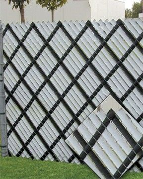 Home Made Alternative To Chain Link Privacy Fence Slats Yahoo