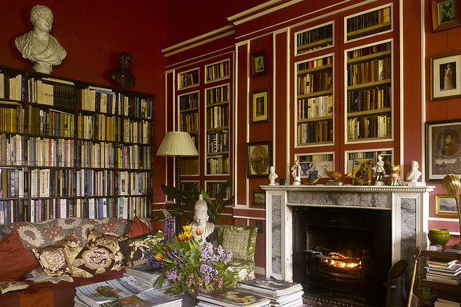 Greek Revival Interior Design | Historic Greek Revival House In Scotland