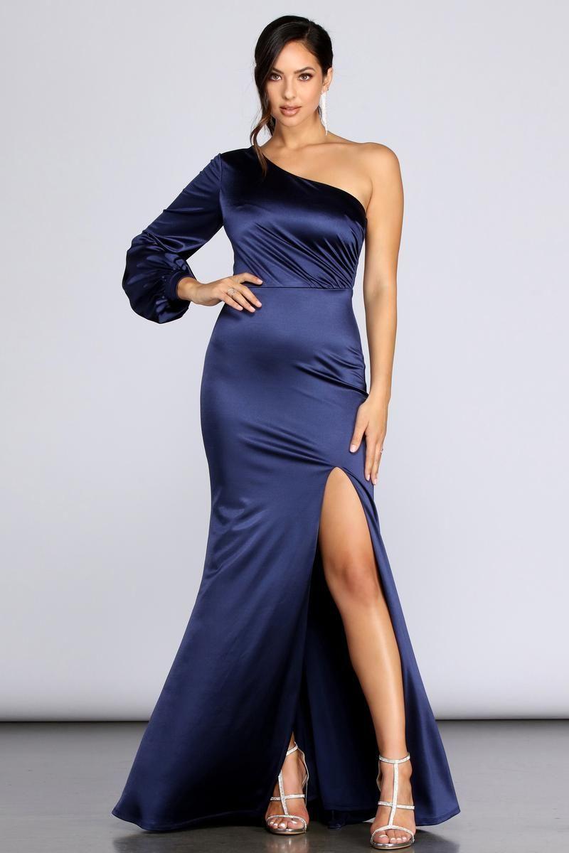 Pin on Satin dress9