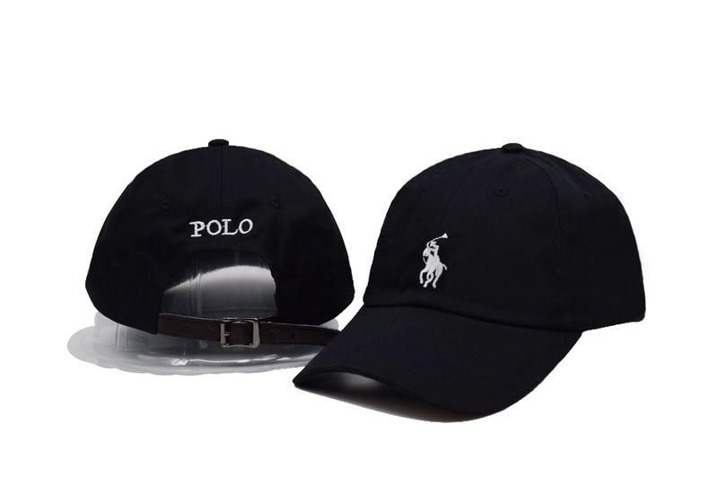 584e2e885fd Men s   Women s Polo Ralph Lauren Big Pony Number 3 Strapback Adjustable  Golf Hat - Black