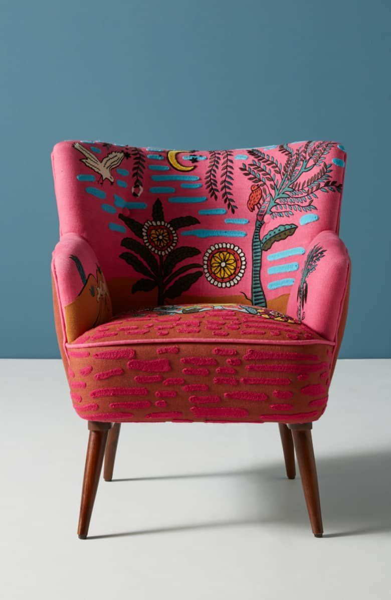 Anthropologie Wayne Occasional Chair Accent Chairs Cool